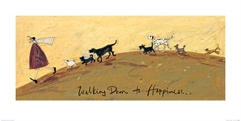Walking Down to Happiness-artwork-Tessa Mae's with Attitude | Gifts and Homewares | Mapua NZ