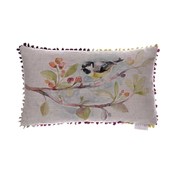 Tweet Linen Cushion-home-decor-Tessa Mae's with Attitude | Gifts and Homewares | Mapua NZ