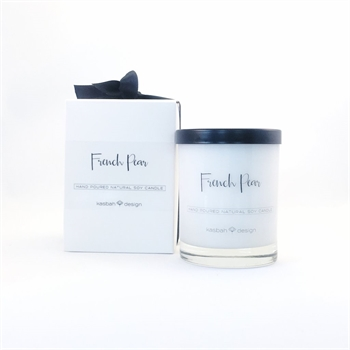 French Pear Luxury Candle-home-fragrance-Tessa Mae's with Attitude | Gifts and Homewares | Mapua NZ