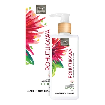 Pohutukawa Lotion 300ml-nz-made-Tessa Mae's with Attitude | Gifts and Homewares | Mapua NZ