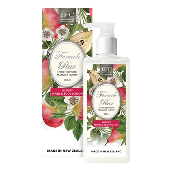 French Pear Lotion 300ml-nz-made-Tessa Mae's with Attitude | Gifts and Homewares | Mapua NZ