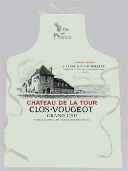 Clos Vougeot Apron Natural-french-range-Tessa Mae's with Attitude | Gifts and Homewares | Mapua NZ