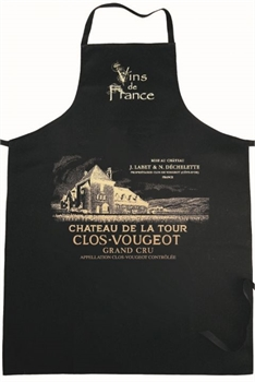 Clos Vougeot Apron Black-french-range-Tessa Mae's with Attitude | Gifts and Homewares | Mapua NZ