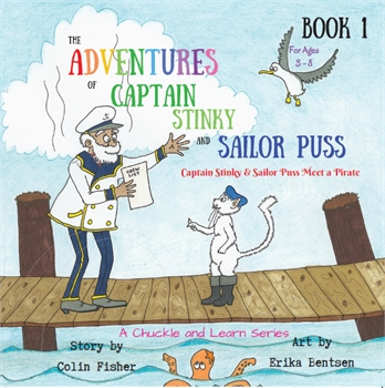 Captain Stinky and Sailor Puss Meet a Pirate-gift-ideas-Tessa Mae's with Attitude | Gifts and Homewares | Mapua NZ
