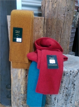 Possum/Merion Plain Scarf Red-nz-made-Tessa Mae's with Attitude | Gifts and Homewares | Mapua NZ