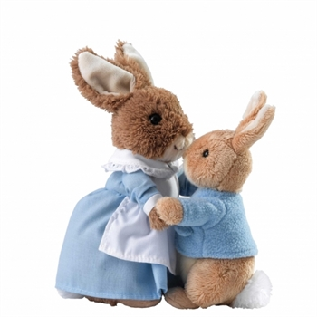 Mrs Rabbit & Peter Soft Toy Set-gift-ideas-Tessa Mae's with Attitude | Gifts and Homewares | Mapua NZ