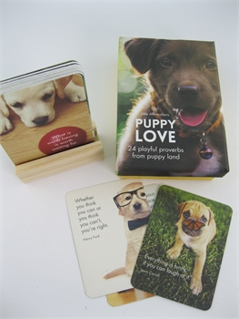 Puppies Love Affirmation Cards-cardbox-Tessa Mae's with Attitude | Gifts and Homewares | Mapua NZ