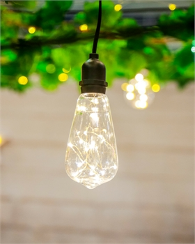 Vintage Pendant Clear 5m LED -home-decor-Tessa Mae's with Attitude | Gifts and Homewares | Mapua NZ