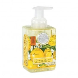Lemon & Basil Foaming Soap-gift-ideas-Tessa Mae's with Attitude | Gifts and Homewares | Mapua NZ
