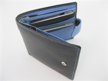 Wallet Black/McLaren Blue-gift-ideas-Tessa Mae's with Attitude | Gifts and Homewares | Mapua NZ