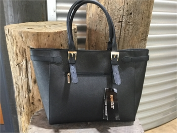 Tote Black Bag Large On Sale-bags-Tessa Mae's with Attitude | Gifts and Homewares | Mapua NZ