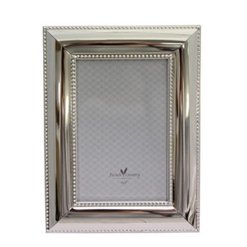 Silver Pearl 6x4 Photo Frame-home-decor-Tessa Mae's with Attitude | Gifts and Homewares | Mapua NZ