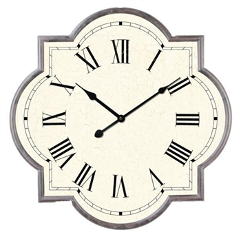 Marrakech Roman Numeral Clock-home-decor-Tessa Mae's with Attitude | Gifts and Homewares | Mapua NZ