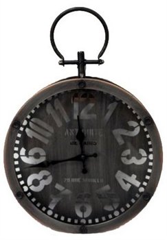 Rustic Small Clock-home-decor-Tessa Mae's with Attitude | Gifts and Homewares | Mapua NZ