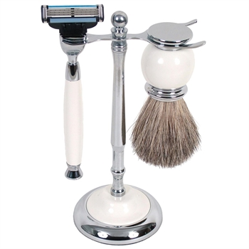 MAK3 Shave Set White-gift-ideas-Tessa Mae's with Attitude | Gifts and Homewares | Mapua NZ