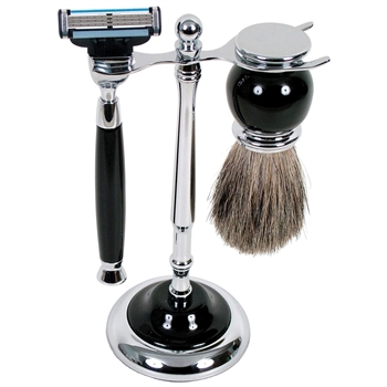 MAK3 Shave Set Black-gift-ideas-Tessa Mae's with Attitude | Gifts and Homewares | Mapua NZ