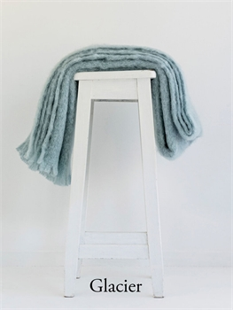 NZ Mohair Throw - Glacier-nz-made-Tessa Mae's with Attitude | Gifts and Homewares | Mapua NZ