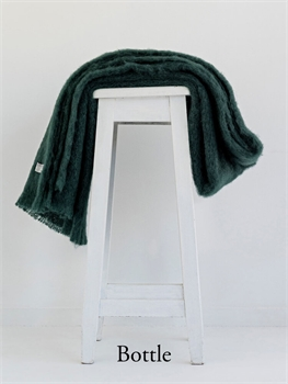 NZ Mohair Throw - Bottle-nz-made-Tessa Mae's with Attitude | Gifts and Homewares | Mapua NZ
