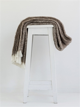 NZ Alpaca Throw - Pumice-nz-made-Tessa Mae's with Attitude | Gifts and Homewares | Mapua NZ