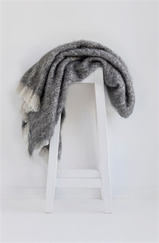 NZ Alpaca Throw - Granite-nz-made-Tessa Mae's with Attitude | Gifts and Homewares | Mapua NZ
