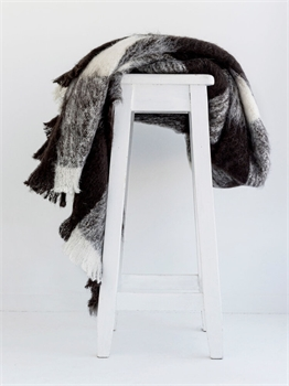 NZ Alpaca Throw - Fresian-nz-made-Tessa Mae's with Attitude | Gifts and Homewares | Mapua NZ