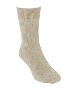 Fine Dress Socks Natural Medium-nz-made-Tessa Mae's with Attitude | Gifts and Homewares | Mapua NZ