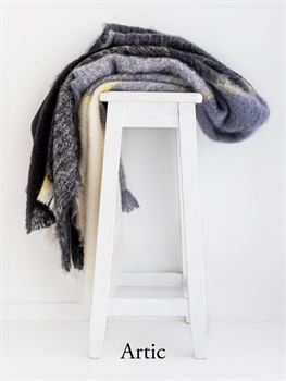 NZ Mohair Throw - Plaid Artic multi-nz-made-Tessa Mae's with Attitude | Gifts and Homewares | Mapua NZ