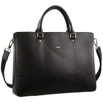 Structured Leather Laptop Bag-bags-Tessa Mae's with Attitude | Gifts and Homewares | Mapua NZ