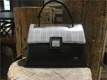 Houndstooth Design Bag-bags-Tessa Mae's with Attitude | Gifts and Homewares | Mapua NZ