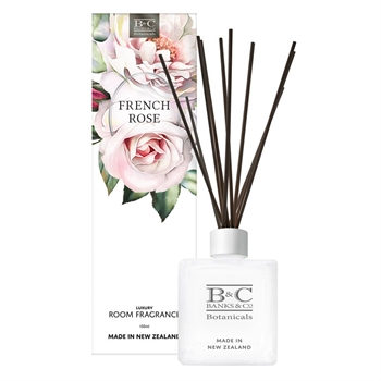 French Rose Diffuser-home-fragrance-Tessa Mae's with Attitude | Gifts and Homewares | Mapua NZ