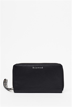 Zigzag Black Purse Briarwood-bags-Tessa Mae's with Attitude | Gifts and Homewares | Mapua NZ