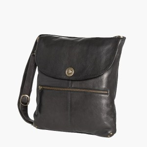 Bianca Larger Black Bag-bags-Tessa Mae's with Attitude | Gifts and Homewares | Mapua NZ