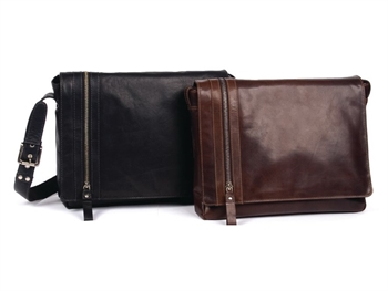 Phil Leather Brown Satchel Bag-bags-Tessa Mae's with Attitude | Gifts and Homewares | Mapua NZ