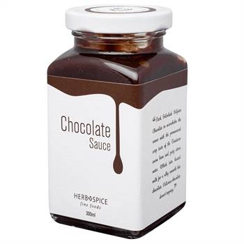 Chocolate Sauce Jar 300ml-gift-ideas-Tessa Mae's with Attitude | Gifts and Homewares | Mapua NZ