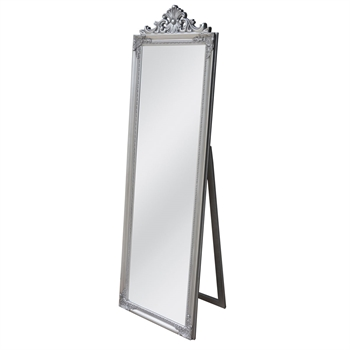 Free Standing Mirror Silver Top Decal-home-decor-Tessa Mae's with Attitude | Gifts and Homewares | Mapua NZ