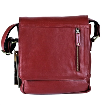 Medium Tablet Bag Red-bags-Tessa Mae's with Attitude | Gifts and Homewares | Mapua NZ