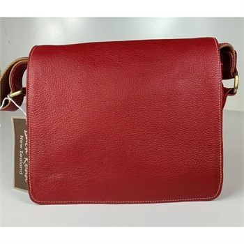Messenger Bag Red-bags-Tessa Mae's with Attitude | Gifts and Homewares | Mapua NZ