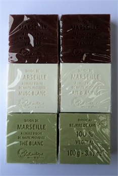 Marseille Soap gift wrapped Tea-french-range-Tessa Mae's with Attitude | Gifts and Homewares | Mapua NZ