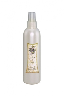 Olive and Fig Linen and Home Mist 200ml-home-decor-Tessa Mae's with Attitude | Gifts and Homewares | Mapua NZ