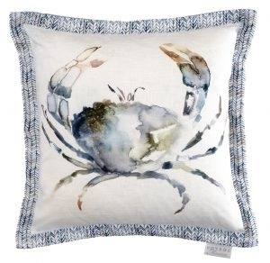 Crab Slate 40x40 Cushion-home-decor-Tessa Mae's with Attitude | Gifts and Homewares | Mapua NZ