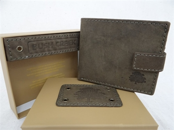 Leather Mens Wallet - Olive BC14-gift-ideas-Tessa Mae's with Attitude | Gifts and Homewares | Mapua NZ