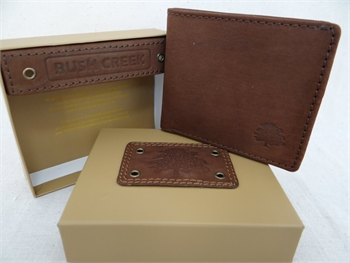 Leather Mens Wallet - Brown BC12-gift-ideas-Tessa Mae's with Attitude | Gifts and Homewares | Mapua NZ