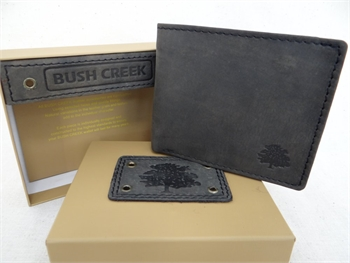 Leather Mens Wallet - Grey Sand BC12-gift-ideas-Tessa Mae's with Attitude | Gifts and Homewares | Mapua NZ
