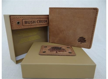 Leather Mens Wallet - Tan BC12-gift-ideas-Tessa Mae's with Attitude | Gifts and Homewares | Mapua NZ