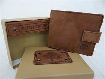 Leather Mens Wallet - Tan BC14-gift-ideas-Tessa Mae's with Attitude | Gifts and Homewares | Mapua NZ