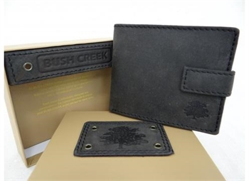 Leather Mens Wallet - Grey Sand BC14-gift-ideas-Tessa Mae's with Attitude | Gifts and Homewares | Mapua NZ