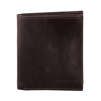 Men's Rustic Leather Wallet Brown-bags-Tessa Mae's with Attitude | Gifts and Homewares | Mapua NZ