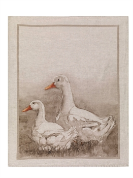 Ducks Italian Linen Tea Towel-kitchenware-Tessa Mae's with Attitude | Gifts and Homewares | Mapua NZ