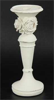 Antique White with Roses-home-decor-Tessa Mae's with Attitude | Gifts and Homewares | Mapua NZ