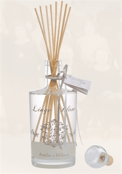 Amelie Diffuser Linge Blanc WHITE Fragrance-french-range-Tessa Mae's with Attitude | Gifts and Homewares | Mapua NZ